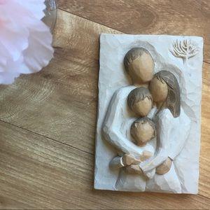 Willow Tree Family Lifetime of Love Plaque